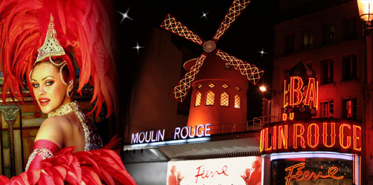 Мулен Руж, бронирование билетов в Париже